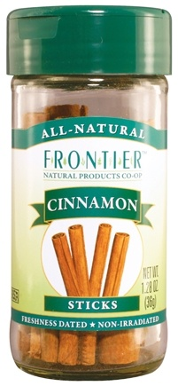 "DROPPED: Frontier Natural Products - All-Natural Cinnamon Sticks - 2 3/4"" - 1.28 oz. CLEARANCE PRICED"