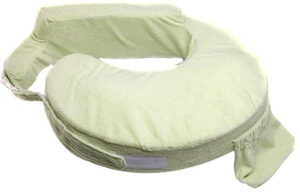 DROPPED: My Brest Friend - Deluxe Nursing Pillow Green - CLEARANCE PRICED