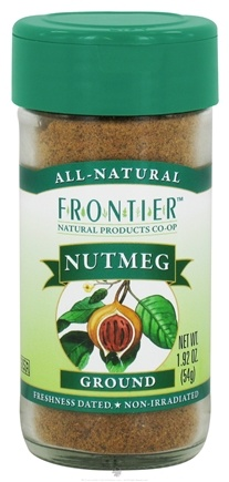 DROPPED: Frontier Natural Products - Nutmeg Ground - 1.92 oz. CLEARANCE PRICED
