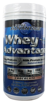 Pure Advantage - Whey Advantage Chocolate Flavor - 2.2 lbs.