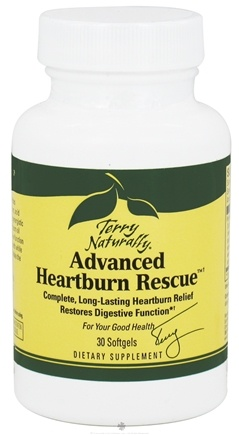 DROPPED: EuroPharma - Terry Naturally Advanced Heartburn Rescue - 30 Softgels CLEARANCE PRICED