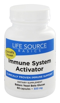 Life Source Basics - Immune System Activator with BetaRight WGP 500 mg. - 60 Capsules