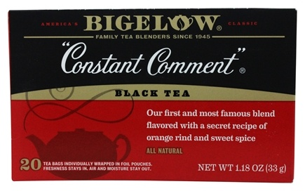 Bigelow Tea - Black Tea Constant Comment - 20 Tea Bags