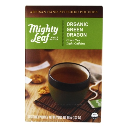 Mighty Leaf - Green Tea Organic Green Dragon - 15 Tea Bags
