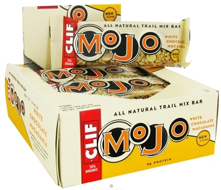DROPPED: Clif Bar - Mojo Sweet and Salty Trail Mix Bar White Chocolate Macadamia - 1.59 oz.
