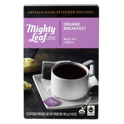 Mighty Leaf - Black Tea Organic Breakfast - 15 Tea Bags