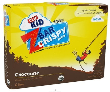 DROPPED: Clif Bar - Kid Z-Bar Organic Crispy Rice Chocolate - 6 Bars
