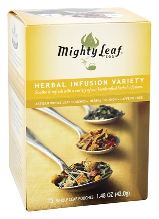 Mighty Leaf - Herbal Infusion Variety - 15 Tea Bags