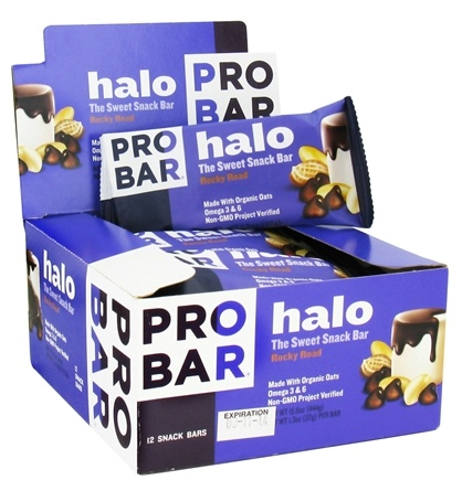 DROPPED: Pro Bar - Halo Snack Bar Rocky Road - 1.3 oz.