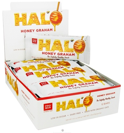 DROPPED: Pro Bar - Halo Snack Bar Honey Graham - 1.3 oz.