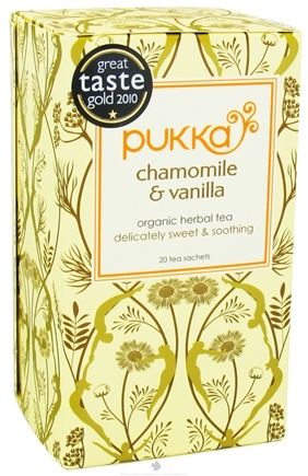 DROPPED: Pukka Herbs - Organic Herbal Tea Golden Chamomile - 20 Tea Bags