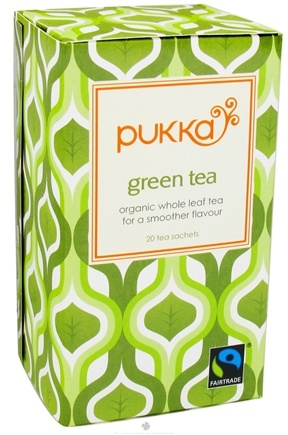 DROPPED: Pukka Herbs - Organic Whole Leaf Tea Green Tea - 20 Tea Bags