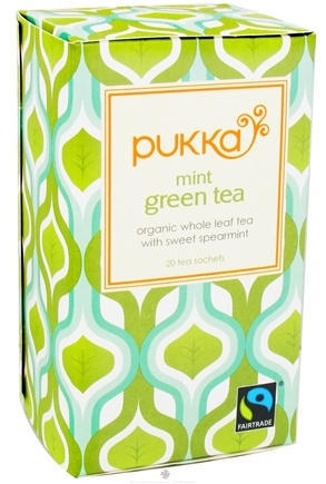 DROPPED: Pukka Herbs - Organic Green Tea Mint - 20 Tea Bags
