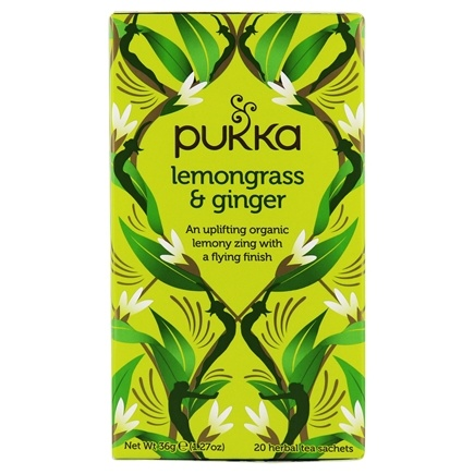 DROPPED: Pukka Herbs - Organic Herbal Tea Lemongrass & Ginger - 20 Tea Bags LUCKY PRICE
