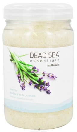 DROPPED: AHAVA - Dead Sea Essentials Dead Sea Bath Crystals Lavender - 32 oz.