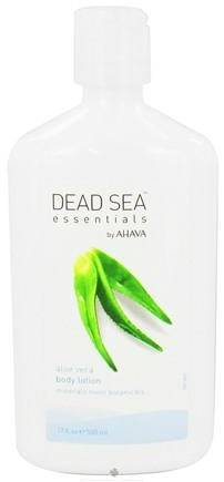 DROPPED: AHAVA - Dead Sea Essentials Body Lotion Aloe Vera - 17 oz.