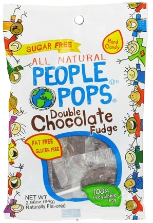 DROPPED: People Pops - All Natural People Pops Double Chocolate Fudge - 2.96 oz.