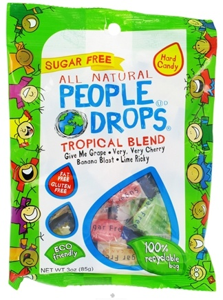 DROPPED: People Pops - All Natural People Drops Tropical Blend - 3 oz.