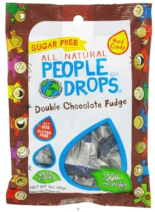 DROPPED: People Pops - All Natural People Drops Double Chocolate Fudge - 3 oz.