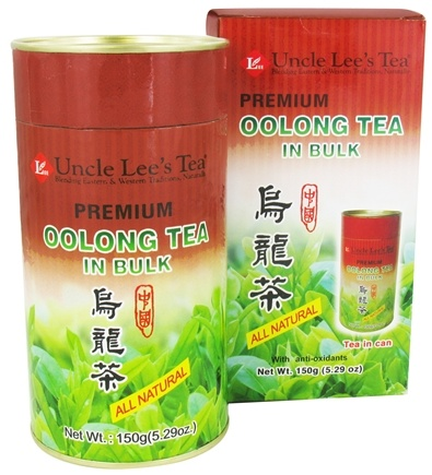 DROPPED: Uncle Lee's Tea - Oolong Tea Bulk Premium All Natural - 5.29 oz.