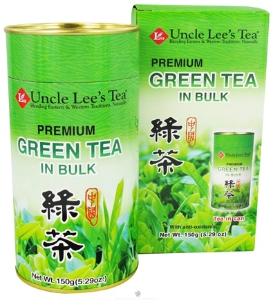 DROPPED: Uncle Lee's Tea - Green Tea Bulk Premium - 5.29 oz.