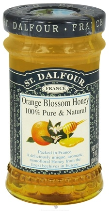 DROPPED: St. Dalfour - Orange Blossom Honey 100% Pure & Natural - 7 oz. CLEARANCE PRICED
