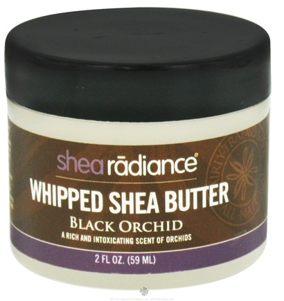 DROPPED: Shea Radiance - Whipped Shea Butter Black Orchid - 2 oz. CLEARANCE PRICED