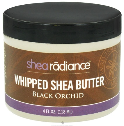 DROPPED: Shea Radiance - Whipped Shea Butter Black Orchid - 4 oz. CLEARANCE PRICED