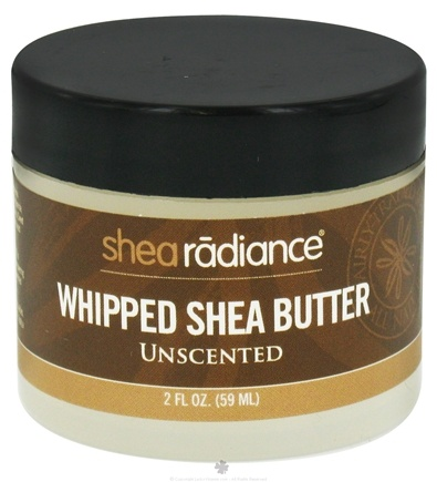 DROPPED: Shea Radiance - Whipped Shea Butter Unscented - 2 oz. CLEARANCE PRICED