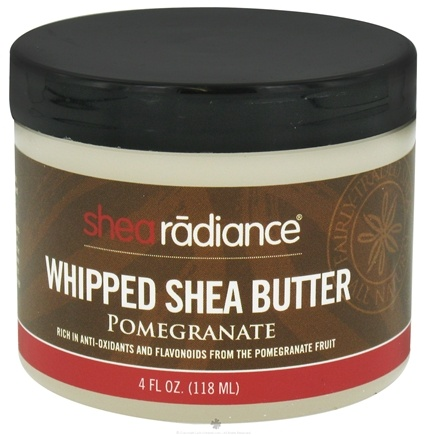 DROPPED: Shea Radiance - Whipped Shea Butter Pomegranate - 4 oz. CLEARANCE PRICED