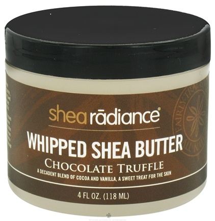 DROPPED: Shea Radiance - Whipped Shea Butter Chocolate Truffle - 4 oz. CLEARANCE PRICED