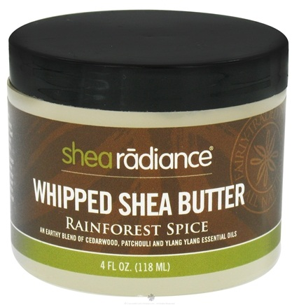 DROPPED: Shea Radiance - Whipped Shea Butter Rainforest Spice - 4 oz. CLEARANCE PRICED