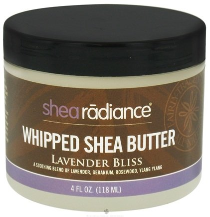 DROPPED: Shea Radiance - Whipped Shea Butter Lavender Bliss - 4 oz. CLEARANCE PRICED