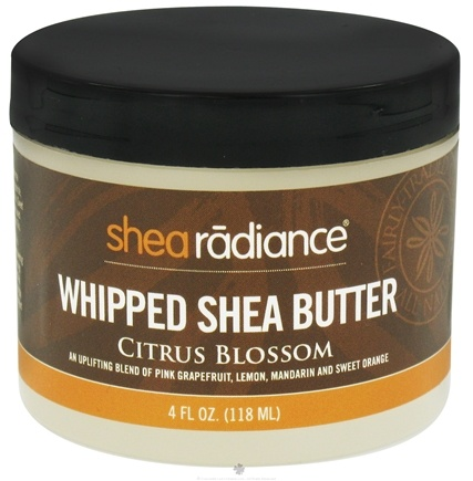 DROPPED: Shea Radiance - Whipped Shea Butter Citrus Blossom - 4 oz.