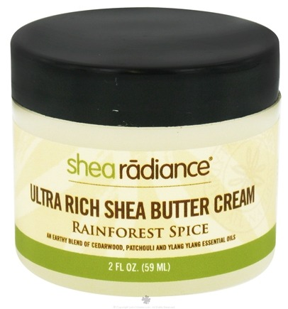 DROPPED: Shea Radiance - Ultra Rich Shea Butter Cream Rainforest Spice - 2 oz. CLEARANCE PRICED
