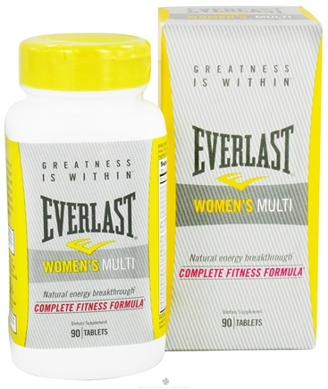 DROPPED: Everlast Sports Nutrition - Women's Multi - 90 Tablets CLEARANCE PRICED