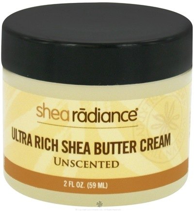 DROPPED: Shea Radiance - Ultra Rich Shea Butter Cream Unscented - 2 oz. CLEARANCE PRICED