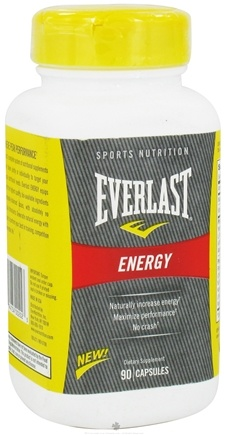 DROPPED: Everlast Sports Nutrition - Energy - 90 Capsules CLEARANCE PRICED