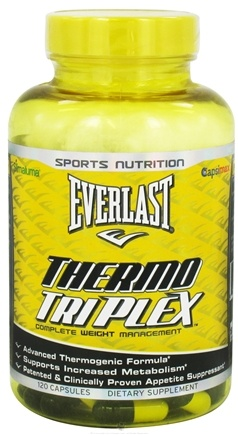 DROPPED: Everlast Sports Nutrition - Thermo Triplex with Green Coffee Extract - 120 Capsules CLEARANCE PRICED