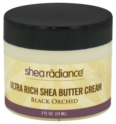 DROPPED: Shea Radiance - Ultra Rich Shea Butter Cream Black Orchid - 2 oz. CLEARANCE PRICED