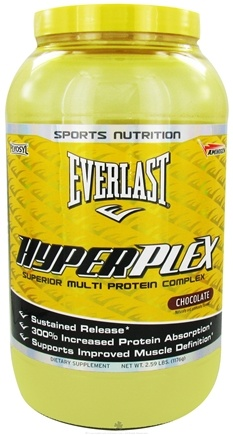 DROPPED: Everlast Sports Nutrition - HyperPlex Chocolate Flavor - 2.59 lbs. CLEARANCE PRICED