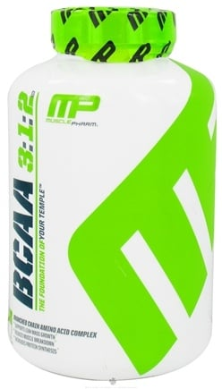 DROPPED: Muscle Pharm - BCAA 3:1:2 Branched Chain Amino Acid Complex - 240 Capsules