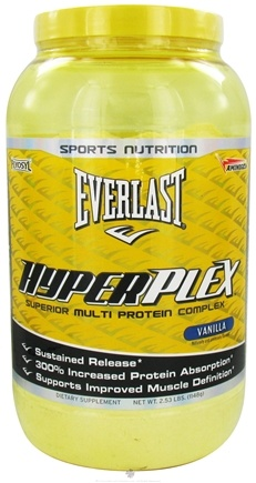 DROPPED: Everlast Sports Nutrition - HyperPlex Vanilla Flavor - 2.53 lbs. CLEARANCE PRICED