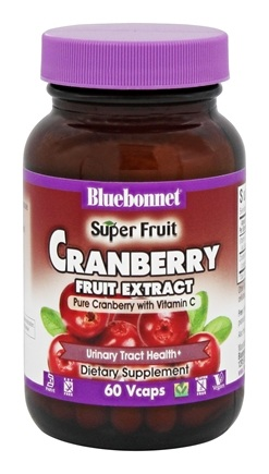 Bluebonnet Nutrition - Perfect Cranberry 500 mg. - 60 Vegetarian Capsules