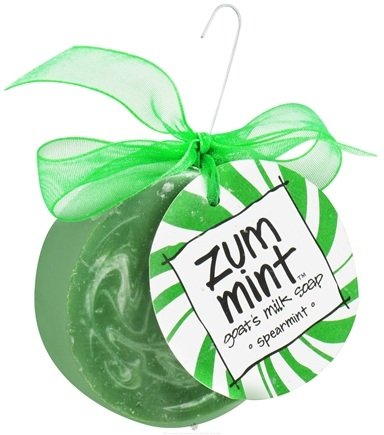 DROPPED: Indigo Wild - Zum Mint Ornament Goat's Milk Soap Spearmint
