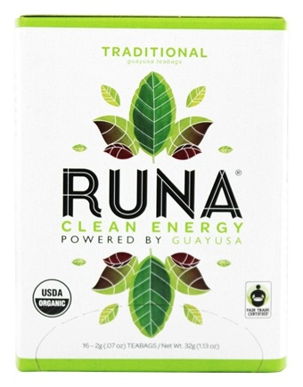 Runa - Amazonian Guayusa Traditional - 16 Tea Bags