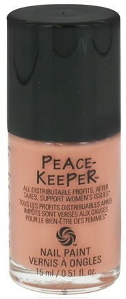 DROPPED: PeaceKeeper Cause-Metics - Nail Paint Natural Nail Polish Paint Me Non-Violent - 0.51 oz. CLEARANCE PRICED