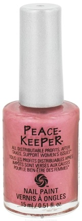 DROPPED: PeaceKeeper Cause-Metics - Nail Paint Natural Nail Polish Paint Me Stunning - 0.51 oz. CLEARANCE PRICED