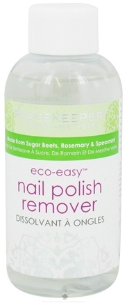 DROPPED: PeaceKeeper Cause-Metics - Eco-Easy Nail Polish Remover - 4 oz.
