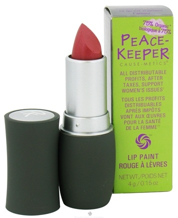 DROPPED: PeaceKeeper Cause-Metics - Lip Paint Natural Lipstick Paint Me Free - 0.15 oz. CLEARANCE PRICED